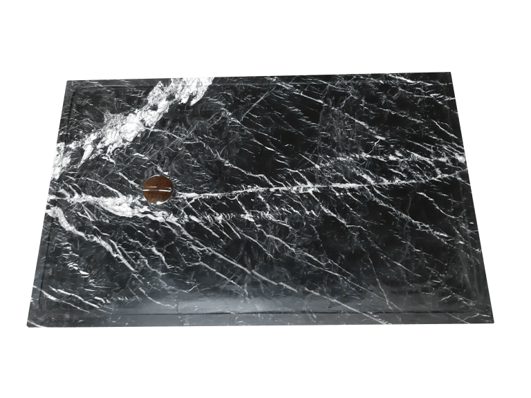 Plato de Ducha modelo URANO en negro marquina
