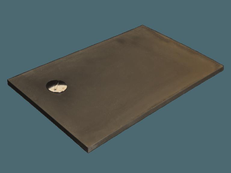 Plato de ducha modelo VENUS de pizarra negra